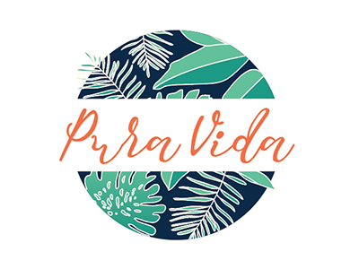 Pura Vida Logo Comp 2 by Kristian Champagne Patton on Dribbble.