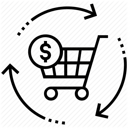 Shopping Cart Icon Background clipart.