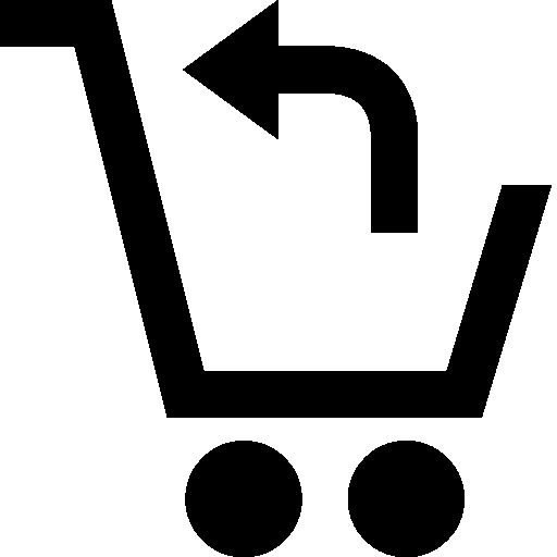 Shopping Return Purchase Icon.