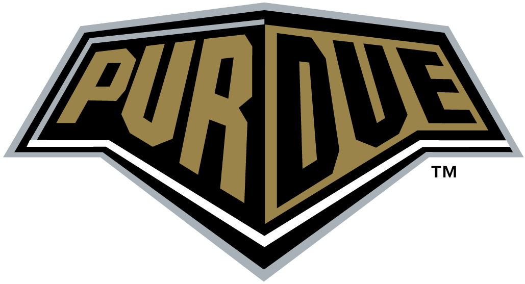 Purdue Boilermakers Wordmark Logo.