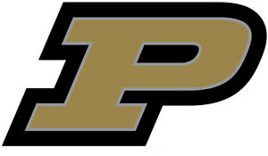 Details about PURDUE UNIVERSITY Boilermakers Large Logo Cornhole Decals /  Set of 2.