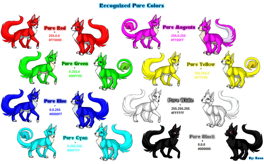 Pure Color Chart by Naonical on DeviantArt.