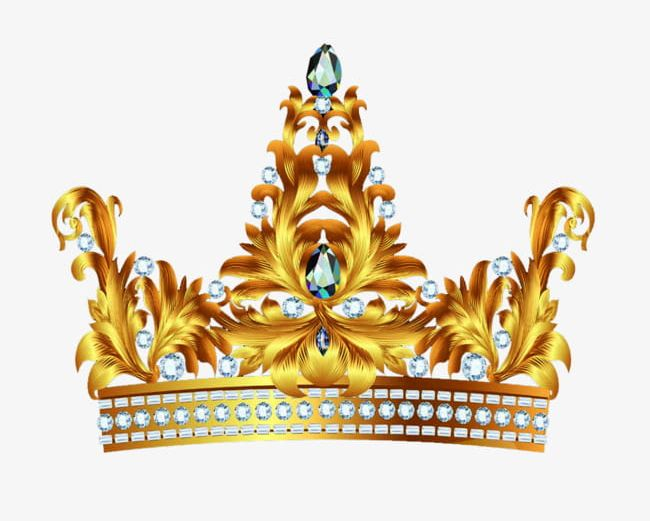 Pure Gold Crown Material PNG, Clipart, Crown, Crown Clipart.
