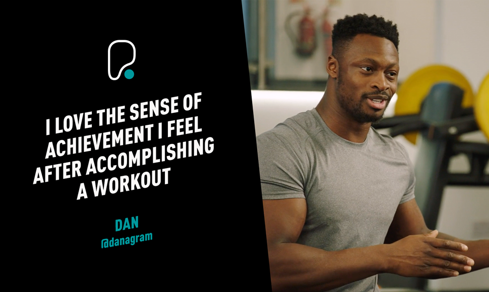 Dan The Circle l What motivates him to stay in shape?.