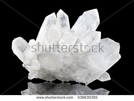 Crystal Stone Macro Mineral Purple Rough Stock Photo 434618539.