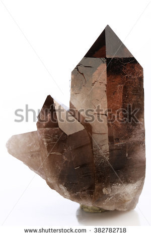 Quartz Crystal Stock Images, Royalty.