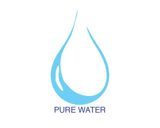 Pure water clipart.