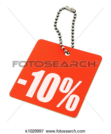 Picture of Sale tag on pure white background k1029997.