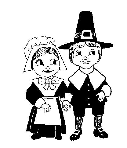 Pilgrim Free Clipart.