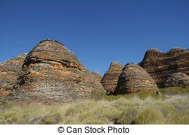 Pictures of Bungle Bungles Purnululu Australia.