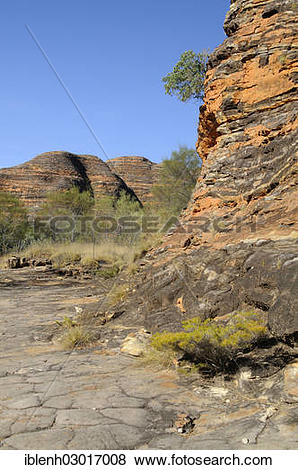 """Pictures of """"Purnululu National Park, Bungle Bungles, Piccaninny."""