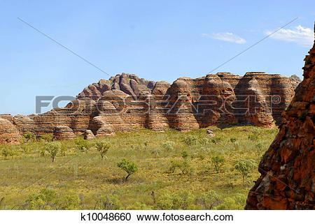 Stock Photography of Bungle Bungles Purnululu Australia k10048660.