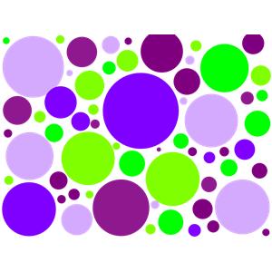 Lilac Polka Dot Clipart.