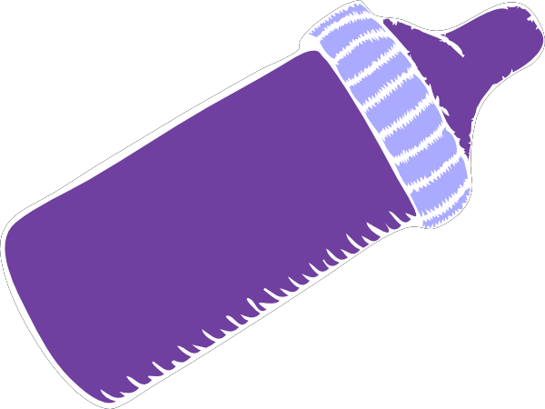Purple Baby Bottle Clip Art at Clker.com.