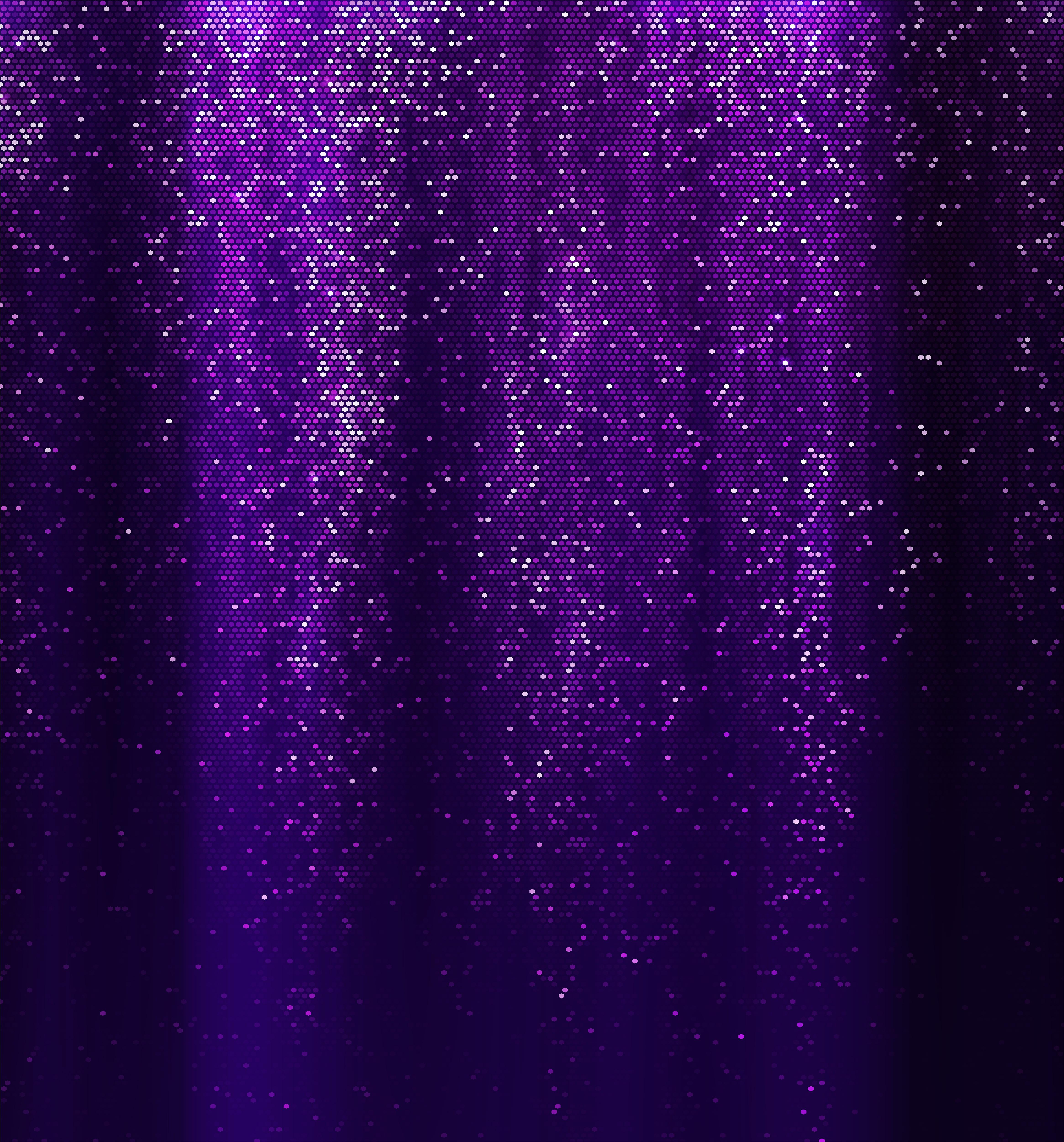 Glittering Purple Background.