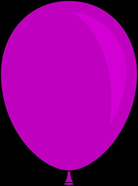 Purple Balloon Clip Art at Clker.com.