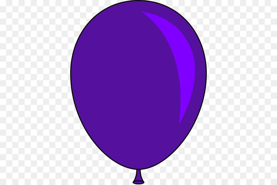Purple Balloons Cliparts 6.