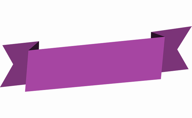 Download Free png Purple Banner PNG File.