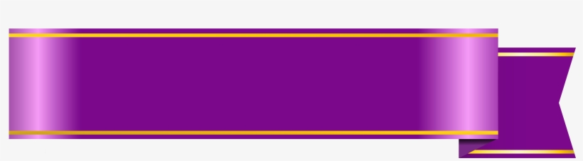 Purple Banner Png Clipart Picture.