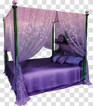 Room Bed frame Furniture, bed transparent background PNG.