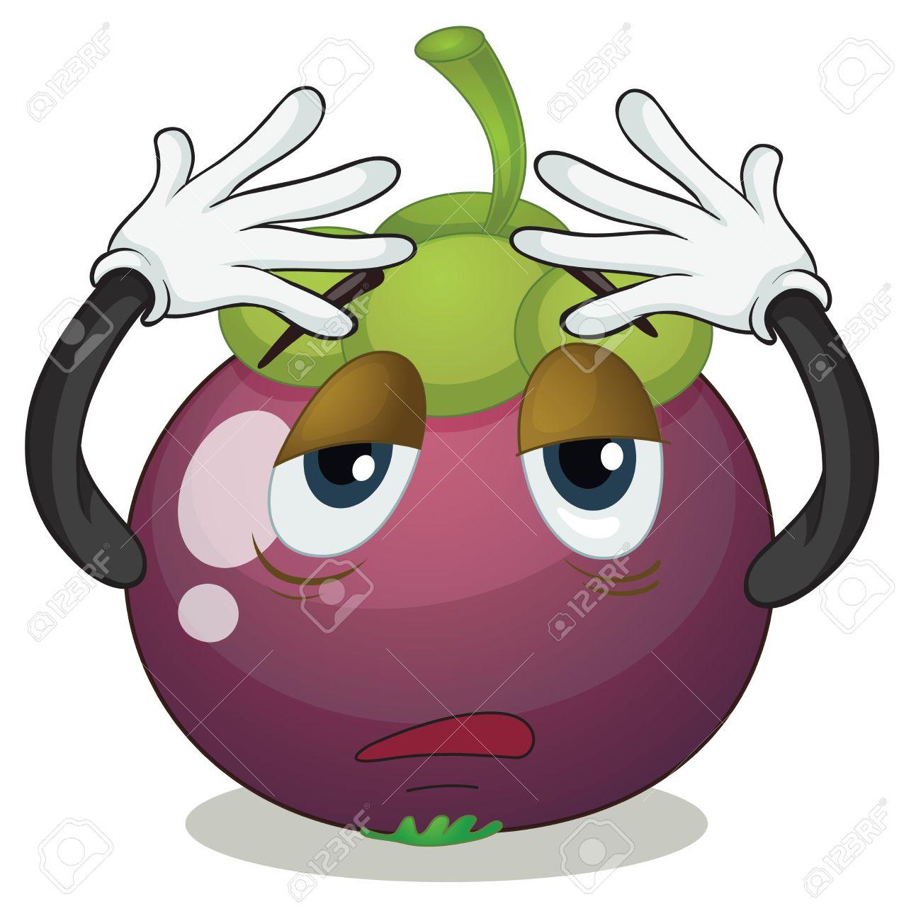 Showing post & media for Cartoon purple berries.