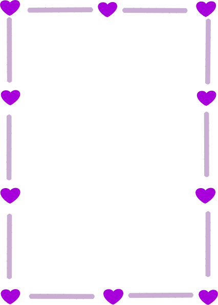 Purple Borders and Frames.