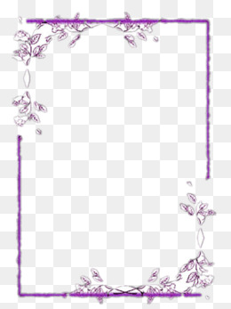 Purple Border Png, Vector, PSD, And Clip #624407.