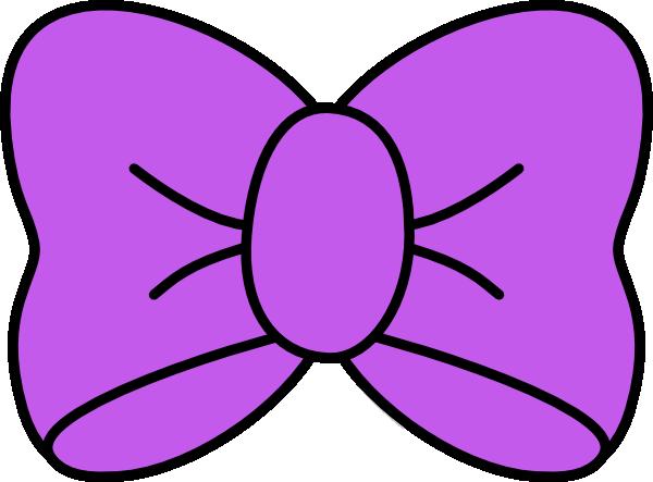 Purple Bow Clip Art at Clker.com.
