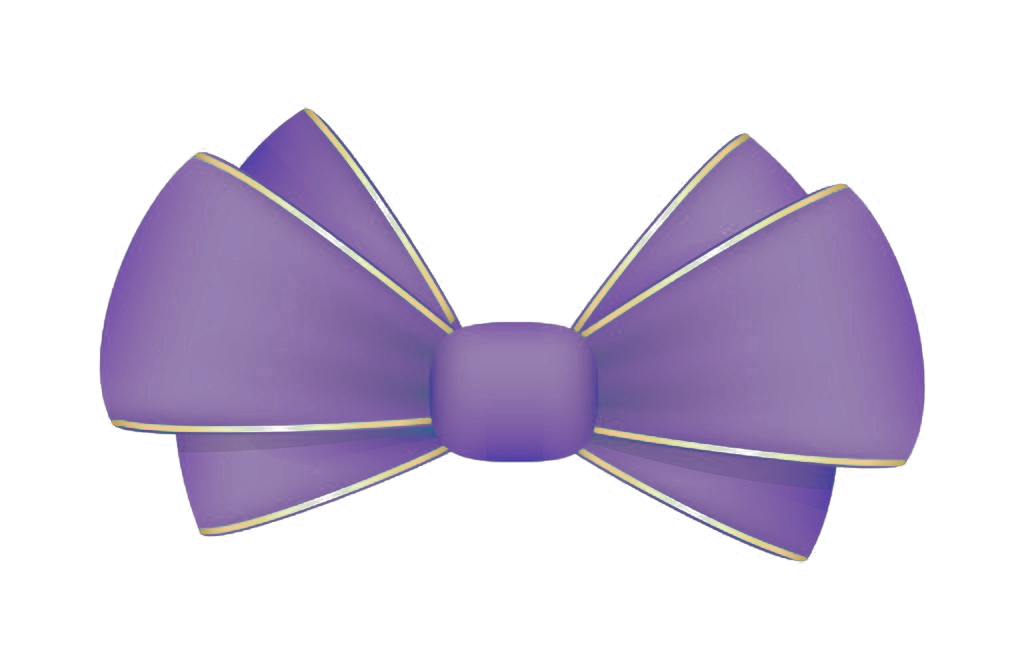Bow tie Purple.