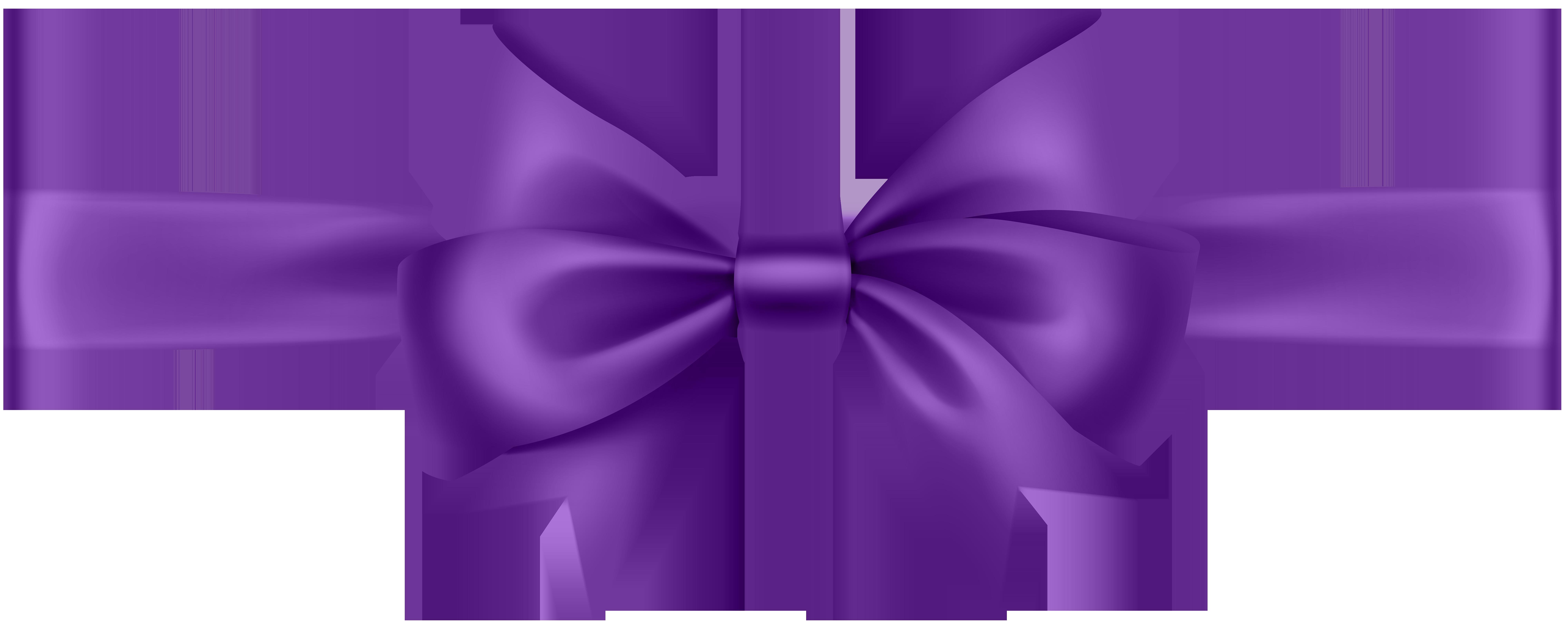 Purple Bow Tie Clipart.