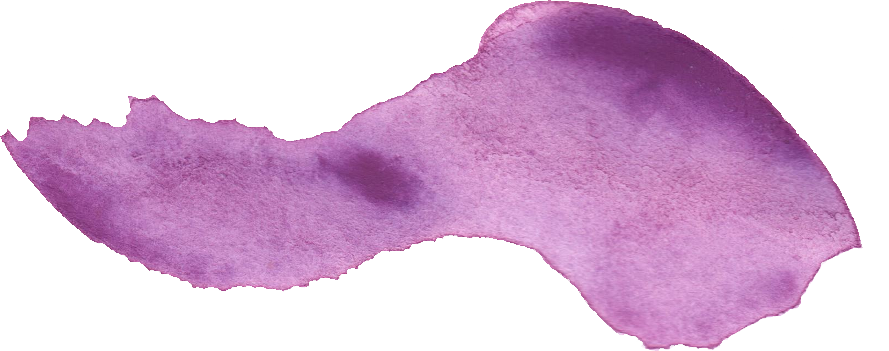 24 Purple Watercolor Brush Stroke (PNG Transparent.