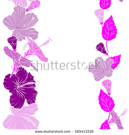 Vector Lotos On Purple Background Stock Vector 85312315.