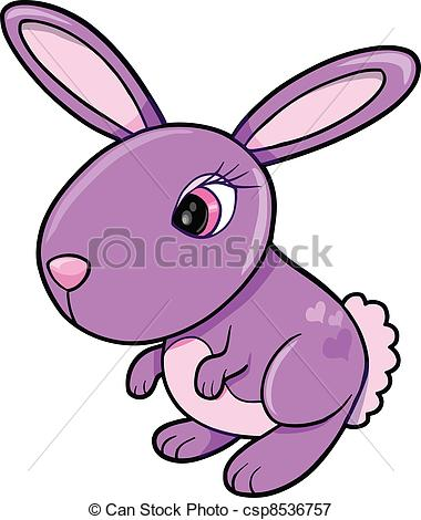 Purple bunny clipart » Clipart Station.