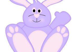 Purple bunny clipart 5 » Clipart Portal.
