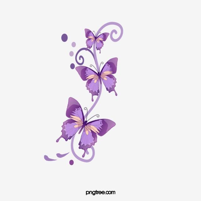 Purple Butterfly, Butterfly Clipart, Butterfly, Purple PNG.