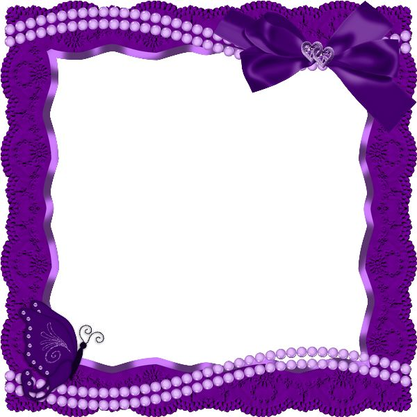 Purple Butterfly Border Clipart Clipground