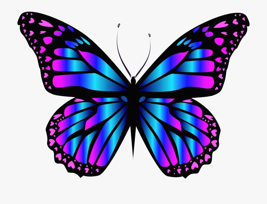 Butterfly Purple Clipart.