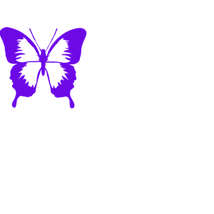 Purple Butterfly Clipart clipart, cliparts of Purple.