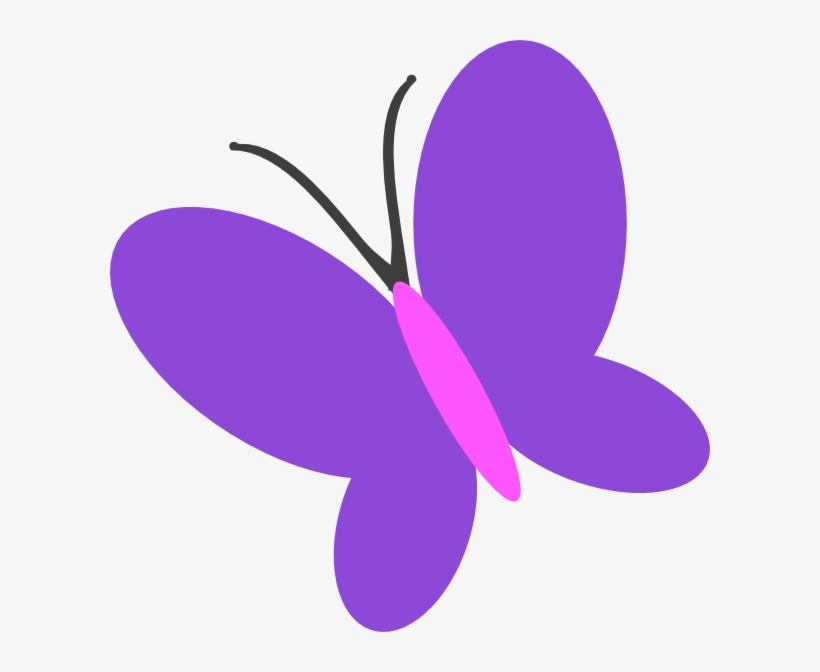 Butterfly Clipart Purple Butterfly.