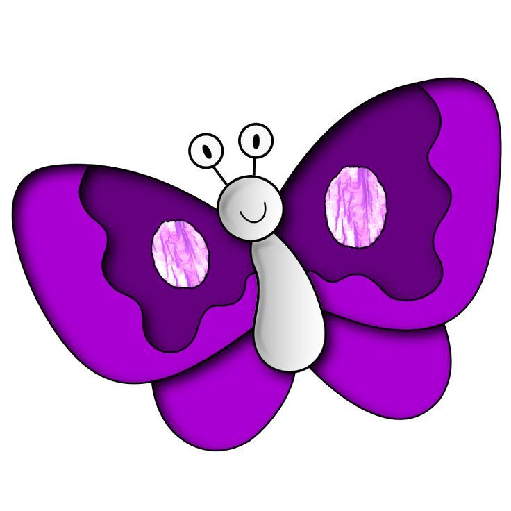 Purple Butterfly Png Clipart Picture, Purple Butterfly Free.