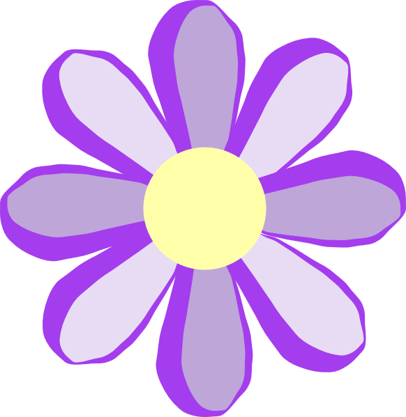 Purple Flower Clip Art & Purple Flower Clip Art Clip Art Images.