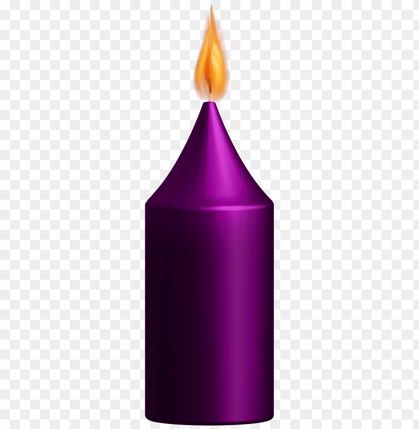 Download purple candle clipart png photo.