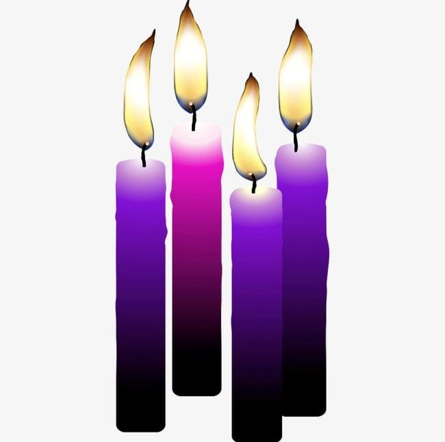 Purple Candles PNG, Clipart, Birthday, Candle, Candles.