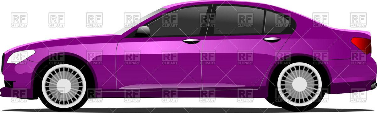 Purple car sedan.
