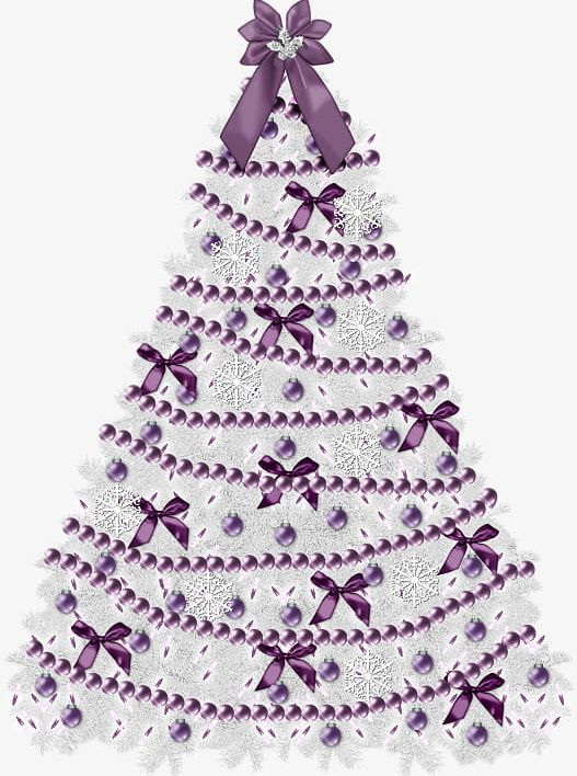 Purple Christmas Tree PNG, Clipart, Backgrounds, Bow.