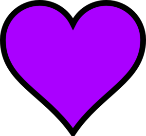 280 Purple Heart clip art.
