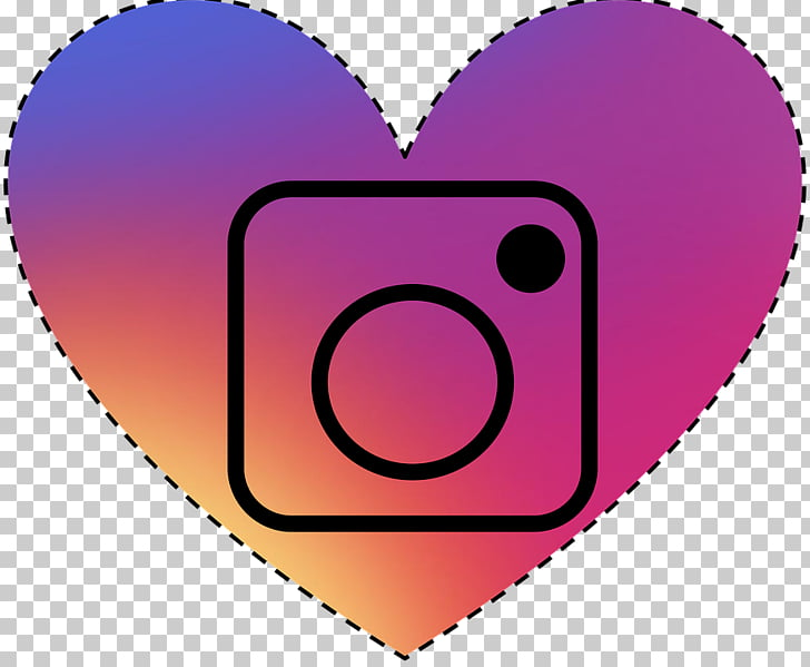 Social media Heart Icon, Purple Love PNG clipart.