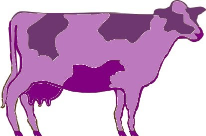 GirlsNGlasses: I Am a Purple Cow.