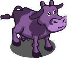 Purple cow.
