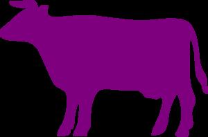 Purple Cow Clip Art.
